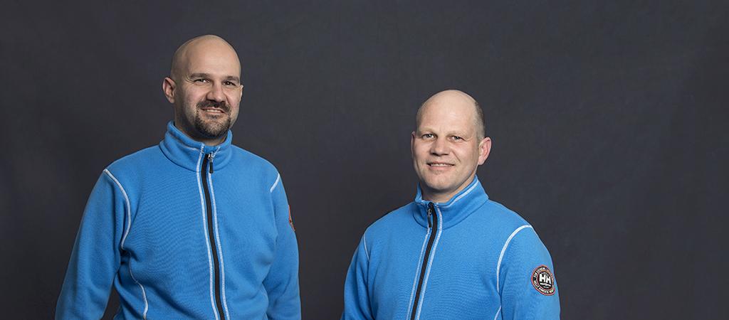 Peter Imhof und Christian Trummer